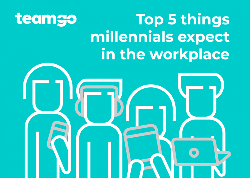 5 Expectations of Millennials in the Workplace - Banner