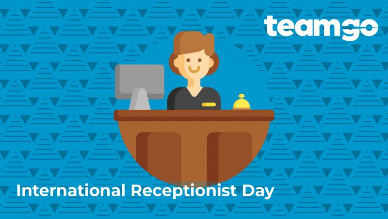 Banner - International receptionist day 2